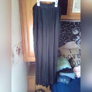 Bardot Silk wide leg high waist pants